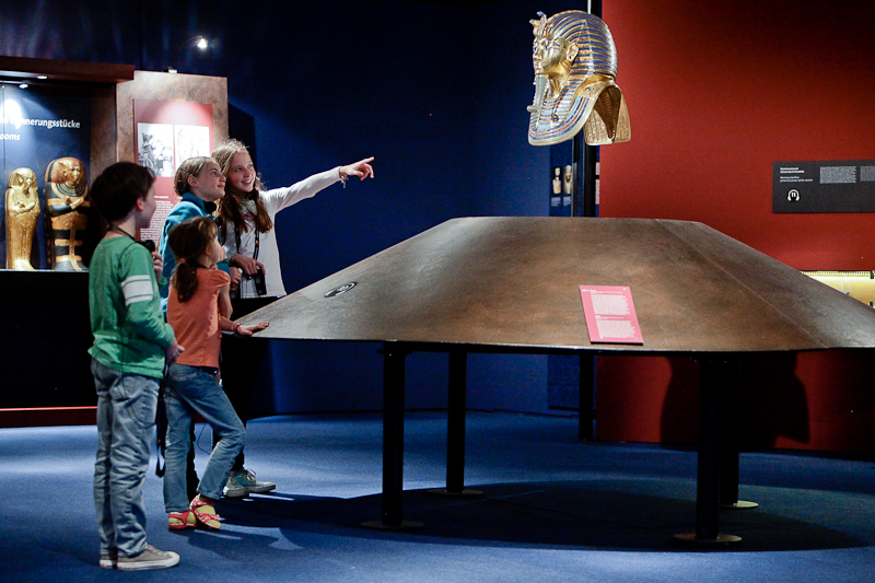 King Tut exhibit at OMSI